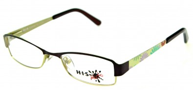 HIS HK 145 002 Kinderbrille in Bordeaux