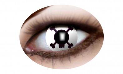 Motivlinsen fancy skull2 Stck  Jahreslinsen