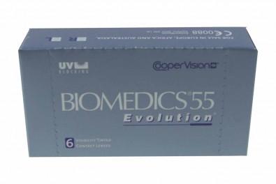 Biomedics 55 Evolution (6 Stk.)