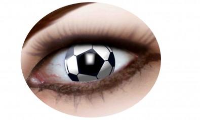 Motivlinsen Fussball  2 Stck  Jahreslinsen