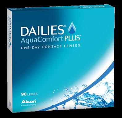 Dailies Aqua Comfort Plus 90er Box