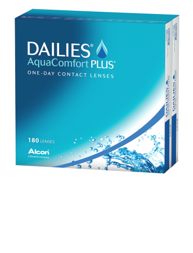 Dailies Aqua Comfort Plus 180er Box