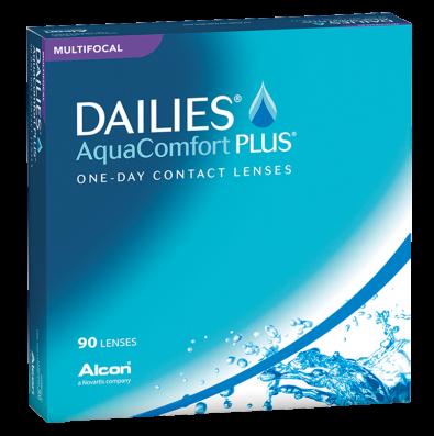 Dailies Aqua Comfort Plus  Multifocal 90er Box