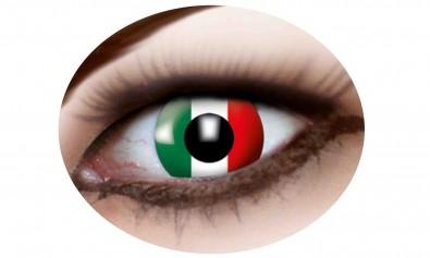 Motivlinsen Italien Flagge  2 Stck  Jahreslinsen