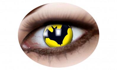 Motivlinsen bat yellow   2 Stck  Jahreslinsen