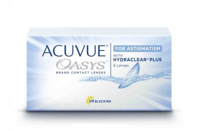ACUVUE Oasys for Astigmatism Sparpack 2 x 6 Linsen