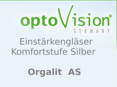 OptoVision Einstärkengläser Orgalit AS i - Protection S