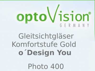 OptoVision Gleitsichtgläser O´ Design You Photo 400 Orgalit