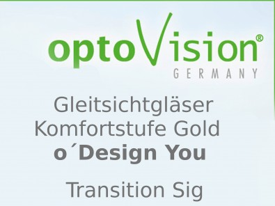 OptoVision Gleitsichtgläser O´ Design You Transition Sig Orgalit