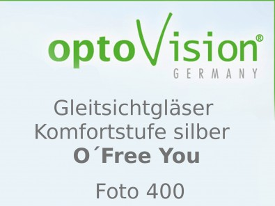 OptoVision Gleitsichtgläser O´Free You Photo 400 Orgalit