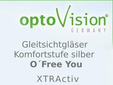 OptoVision Gleitsichtgläser O´Free You XTRActiv Orgalit