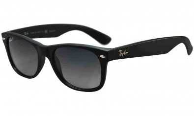 Ray Ban Sonnenbrille New Wayfarer  RB 2132 601-S 78 55-18 polarized