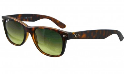 Ray Ban Sonnenbrille New Wayfarer  RB 2132 894-76 55-18 polarized