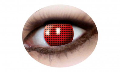 Motivlinsen red screen 2 Stck  Jahreslinsen