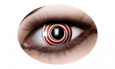 Motivlinsen red spiral   2 Stck  Jahreslinsen