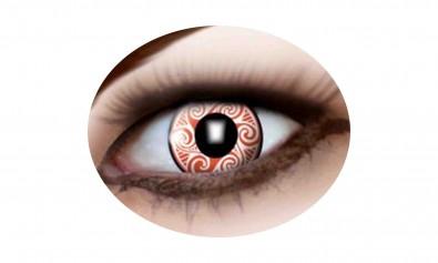 Motivlinsen red swirls 2 Stck  Jahreslinsen
