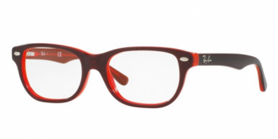 Ray Ban RY 1555 3529 in Rot