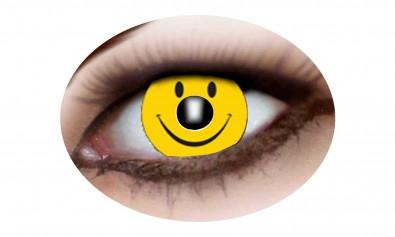Motivlinsen smiley 2 Stck  Jahreslinsen