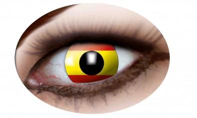 Motivlinsen Spanien Flagge  2 Stck  Jahreslinsen