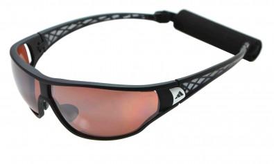 adidas L a189 6050 tycane  pro inkl. Sehstärkenclip schwarz grau mit polarisierenden Gläsern