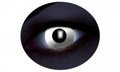 Motivlinsen UV flash white weiß 2 Stck  Jahreslinsen