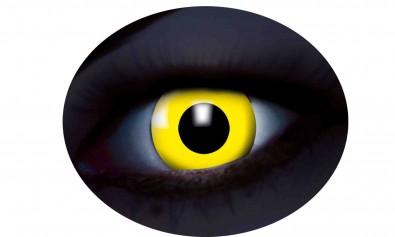 Motivlinsen UV flash yellow gelb 2 Stck  Jahreslinsen