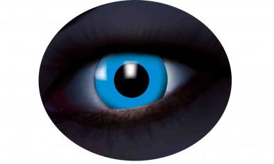 Motivlinsen UV flash blue blau  2 Stck  Jahreslinsen