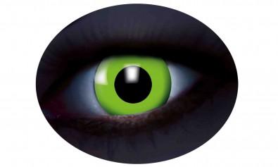 Motivlinsen UV flash green grün 2 Stck  Jahreslinsen