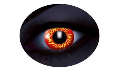 Motivlinsen UV flash wolf  2 Stck  Jahreslinsen